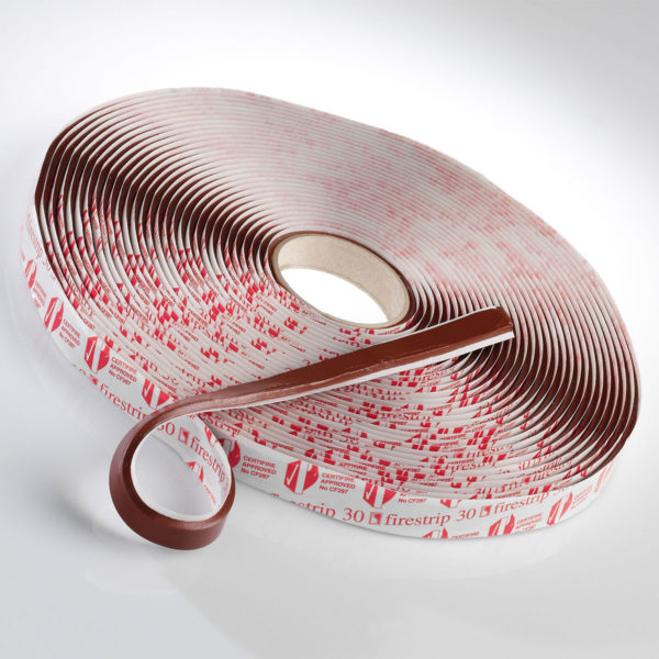 Firestrip 30 Intumescent Glazing Tape - Brown 15 x 1.5mm