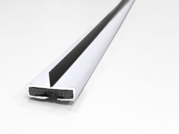 10 x 4mm Fire & Smoke single fin 2100mm White