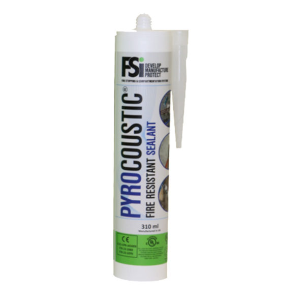 Pyrocoustic Fire Resistant Sealant