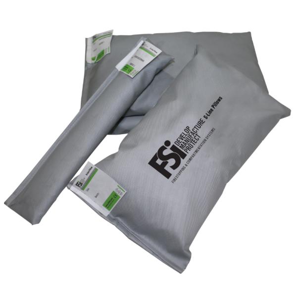 FSi Intumescent Fire Pillow (Sausage) - 330 x 50 x 20mm - Bulk Pack of 50